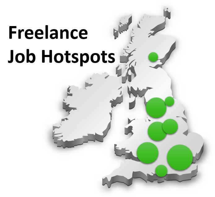 Accountancy Freelance UK Hot Spots