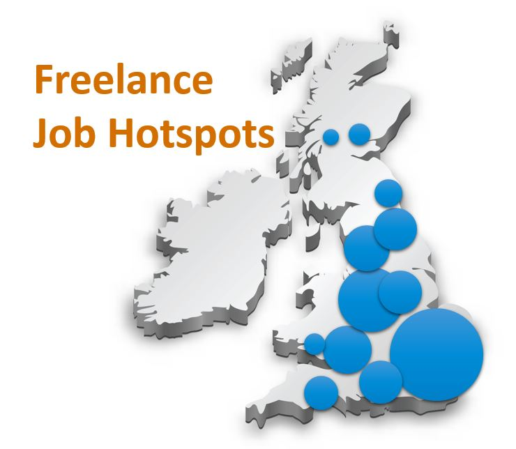 Administration Freelance UK Hot Spots