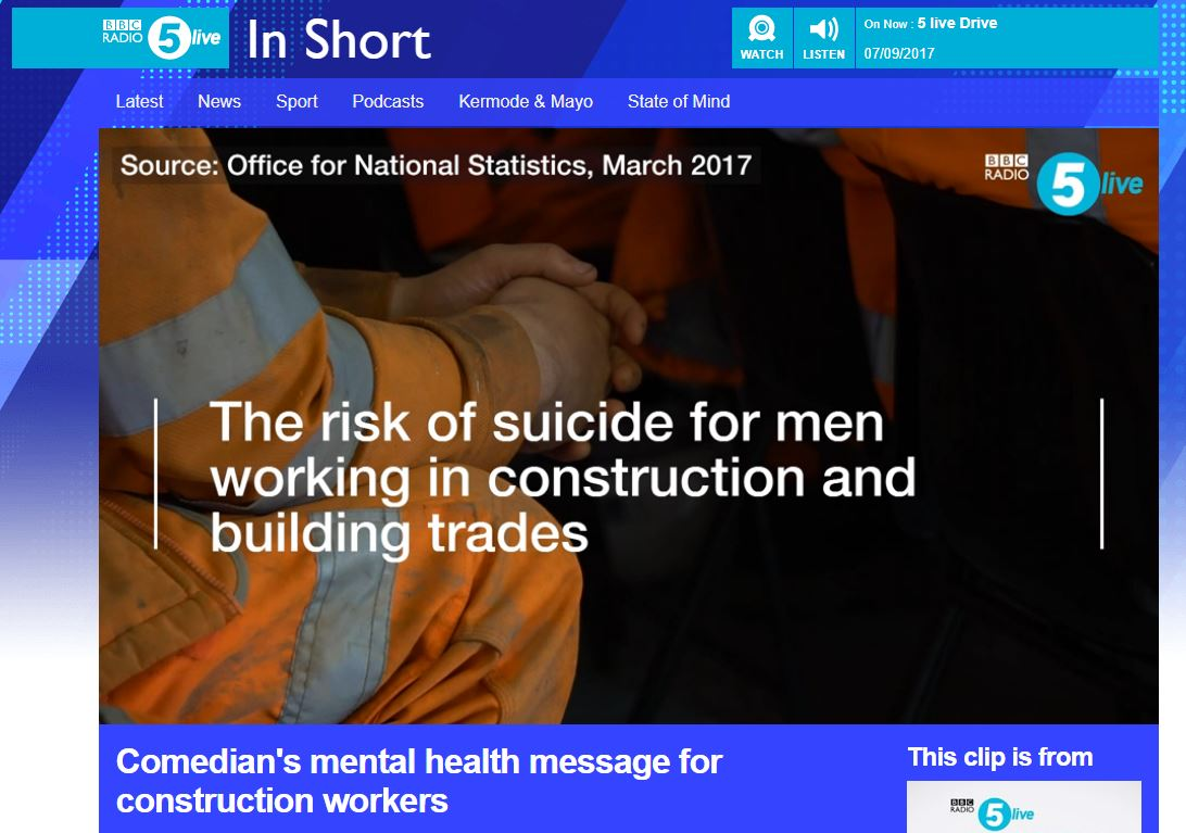 BBC 5Live Mental Health Construction