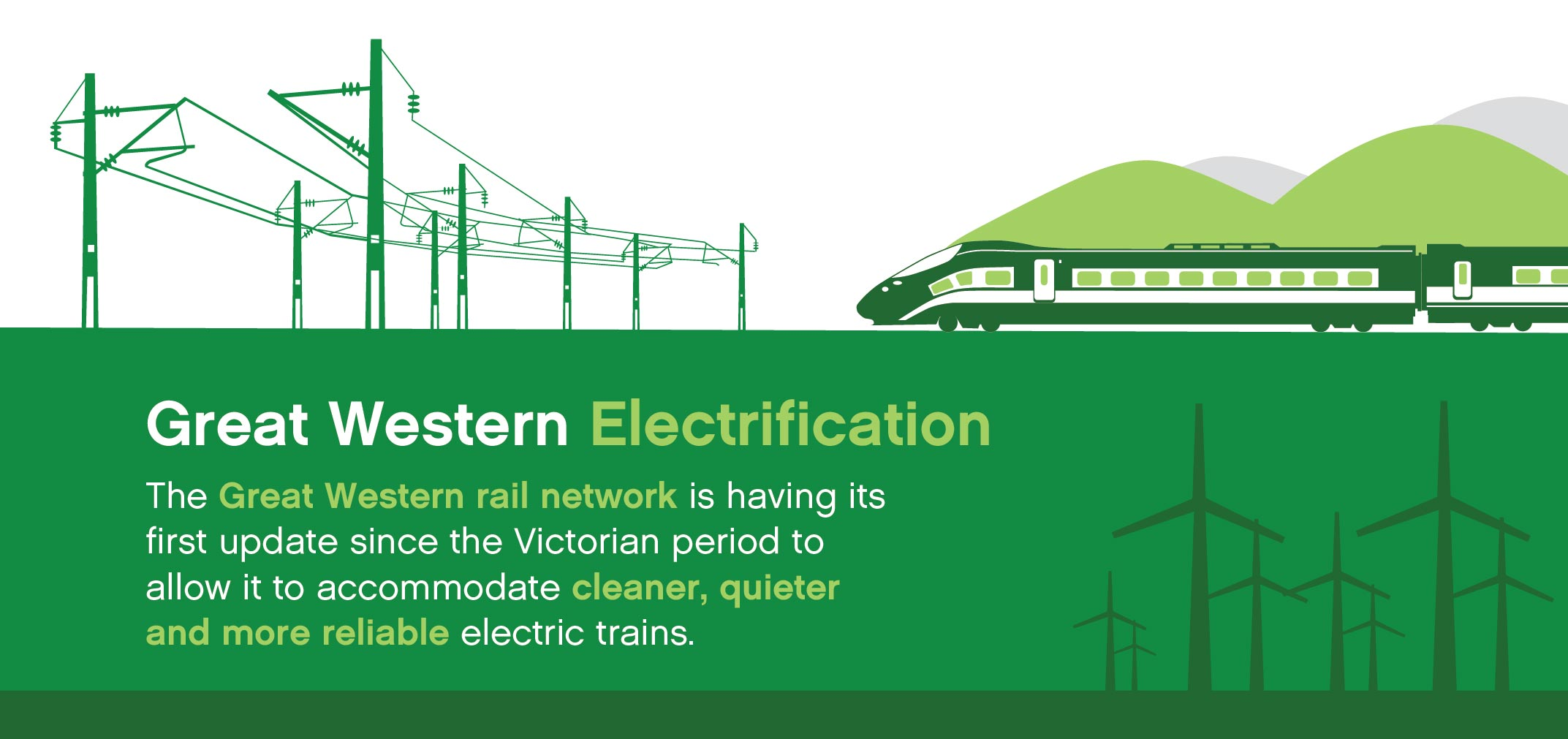Great Western Electrification summary